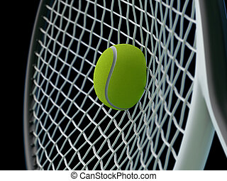 tenis, choque