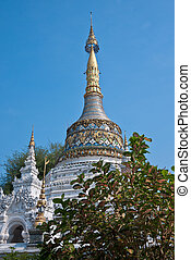 Lanna Stupa - Lanna stupa in a temple in nothern of Thailand