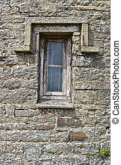 Old Building with Window
