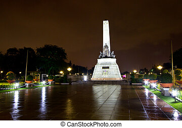 The Rizal Monument - The monument commemorating the...