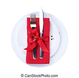 Valentines Romantic Dinner concept