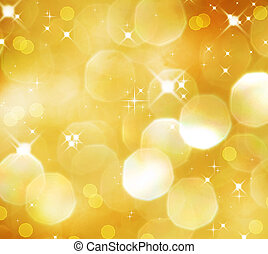 Christmas Golden Glittering backgroundHoliday Gold abstract...