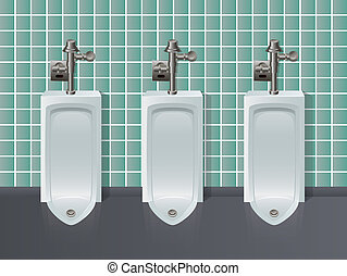 Mensroon - Urinals in a Row