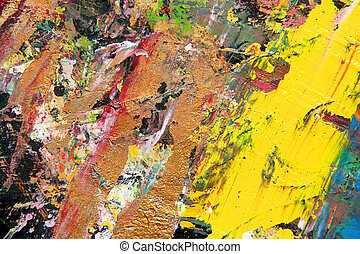 abstract art work as background