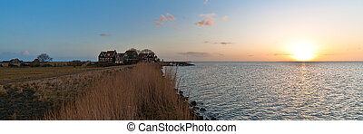 Sunrise the island of Marken This is a Island in the...