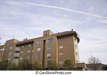 Housing development - Development of modern houses...