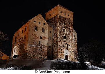 Old castle of Turku, Finland