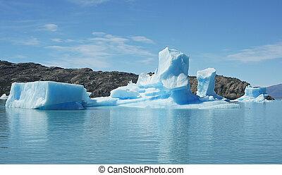NP Los Glaciares, Argentina - NP Los Glaciares, Patagonien,...