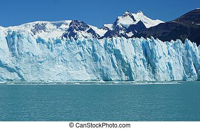 Perito Moreno Glacier, Argentinia - Glacier Perito Moreno,...