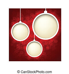 Christmas abstract background - Abstract shiny christmas...