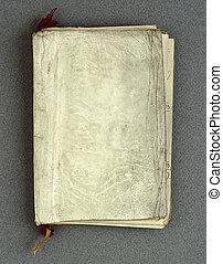Årgång, papper, gammal, bok, bakgrund