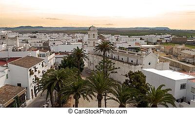 White Church of Conil de la Frontera located in the Spanish...