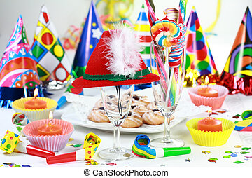 Let\\\'s party - Party accessories for New Year Eve,...