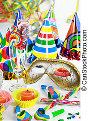 Lets party - Party accessories for New Year Eve, birthday...