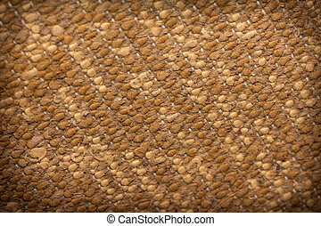 background on the back of the carpet