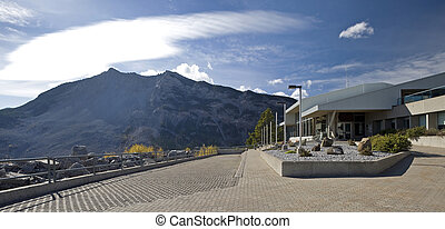 Frank Slide Disaster Information Centre, Alberta, Canada