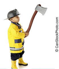 Tiny Fireman's Hatchet