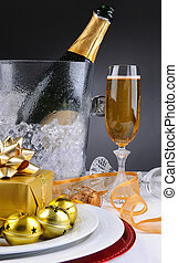 Champagne and Presents