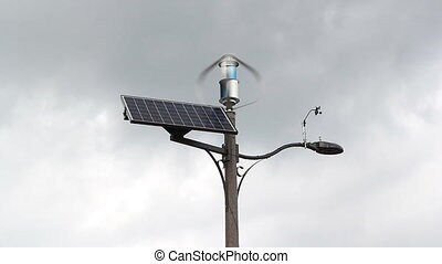 Alternative power. - Wind and Solar power combined with...