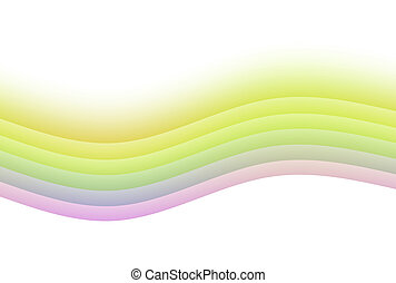 Zen Soothing Rainbow Abstract Background - Zen Soothing...