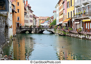 Old houses of Annecy