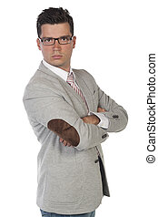 Young Businessman Portrait - Isolated