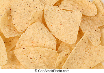 Tortilla Chip close up shot