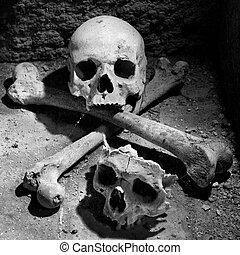 The skulls -Cimitero delle Fontanelle, Naples - Italy 3