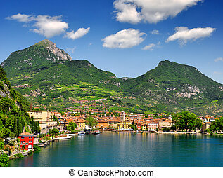 the city of Riva del Garda, situated in the northern part of...