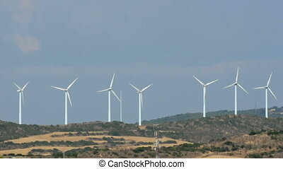 Wind generators on the top