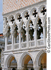 Palace Ducal - detail 2, Venice Italy
