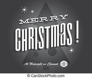 Christmas vintage - Merry christmas vintage tv show and...