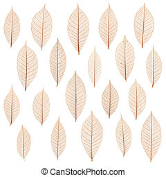 transparent leaf - original transparent leaf pattern
