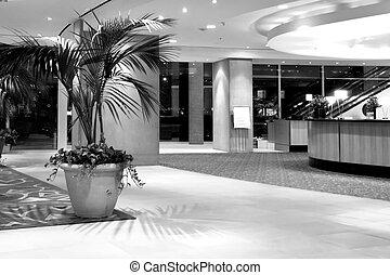 hotel, recepción