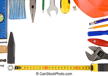 kit of construction tools