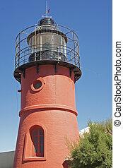 Lighthouse, Peninsula Valdez, Argentina
