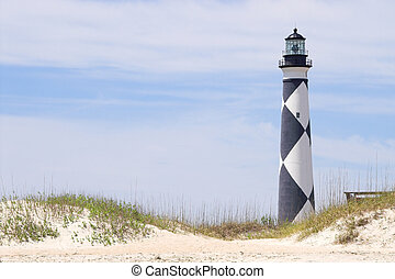 Cape Lookout Lighthouse - A historic lighthouse guiding...