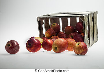 Apple Crate Stock Photograph - Royalty Free Stock Photograph...