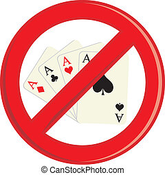 No Gambling cards