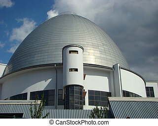 Moscow planetarium - dome of a building of the Moscow...