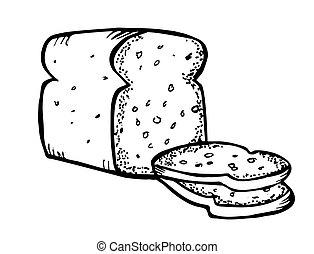 bread doodle