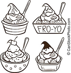 frozen yogurt