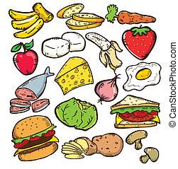 HEALTHY FOOD COLOR VERSION