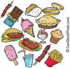 食物, 心不在焉地亂寫亂畫, 舢板
