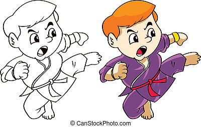 karate kid cartoon