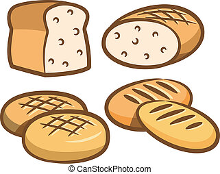 set of bread icon