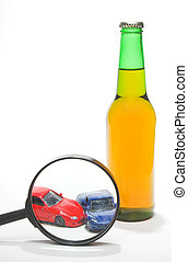 Driving Under The Influence - The concept if driving under...
