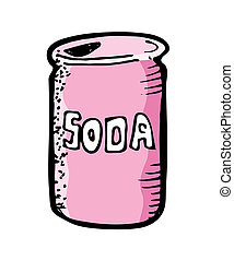 soda can drink