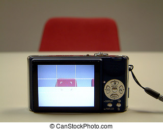 Liquid crystal display - The rear liquid crystal display...