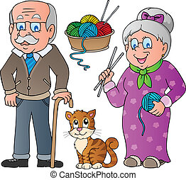 People and family collection 2 - vector illustration.